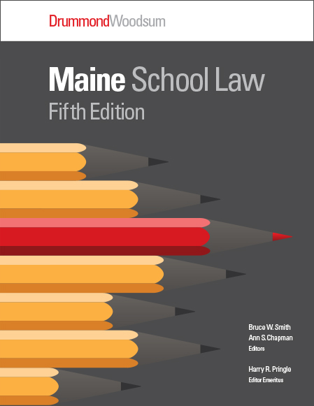 Maine School Law 2014 Cover